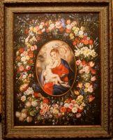 Мадонна в венке из цветов.копия П.Рубенса.худ.С.Минаев