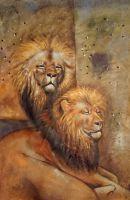 Львы.худ.А.Бруно