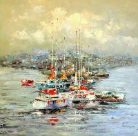 Лодки.худ.Августо Бруно