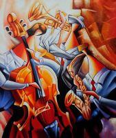 Саксофонист.худ.А.Джанильятти