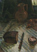 Натюрморт с хлебом и солью