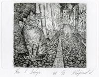 Кот в Выборге