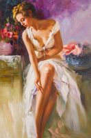 Анжелика (Angelica, копия картины Пино Дени)