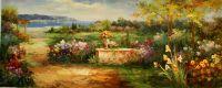 Средиземноморский пейзаж (картина Кристины Виверс)