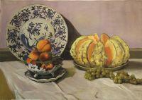 Натюрморт с дыней (копия картины Клода Моне)