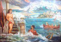 Атлантида перед гибелью