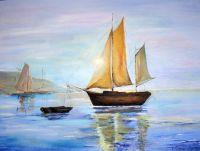Как моряк возвращается с моря