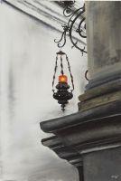 Свеча в соборе Падуи
