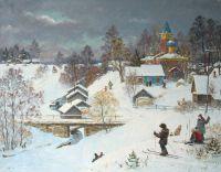Деревня Передки