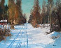 Зимняя дорога, Дунай