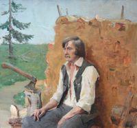Деревня Бор. Портрет Степана