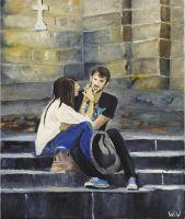Любовь у капеллы Медичи