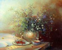 Полевые цветы и земляника