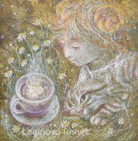 Ромашковый чай для Алисы