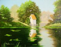 Голубятня на озере