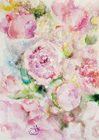 Цветочный ветер: пионы