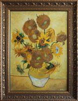 Винсент Ван Гог  - Ваза с пятнадцатью подсолнухами