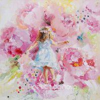 Танцующая в цветке