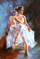 Балерина. Минуты отдыха