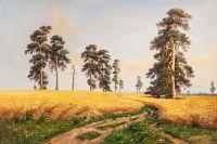Копия картины Ивана Шишкина  Рожь
