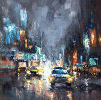 Город. Ночной блюз авто N1 (картина К.Виверс)