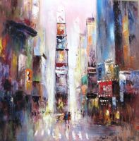 City. Shades Of Purple. Streets (Город. Оттенки фиолетового. Улицы) К.Виверс