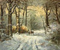 По зимней дороге