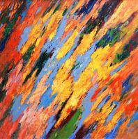 Солнечный дождь (картина Кристины Виверс)
