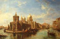 Вид на собор Санта-Мария делла Салюте (копия А. Ромма картины Эдварда Притчетта)