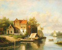 Голландский пейзаж. N02 (Автор А.Ромм)
