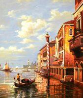 По каналам Венеции N2. Худ. А.Ромм