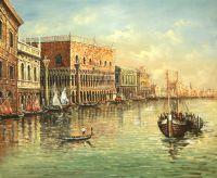 Вид на Дворец Дожей. Автор А.Ромм