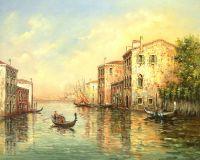 Каналы Венеции. Автор А.Ромм