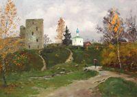 Талавская башня. Изборск