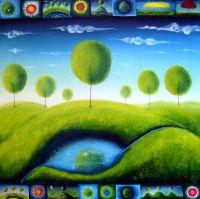 Зелёная глазунья