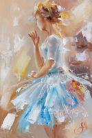 Бирюзовая балерина