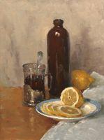 Натюрморт с лимоном