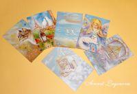 Набор открыток Сказка цвета неба