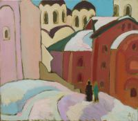 Новгород среди куполов