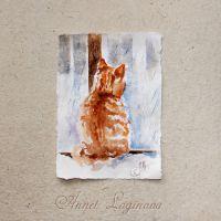 Акварельный альбом: теплыми красками