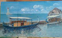 Лодки на мальдивах
