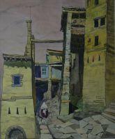 Кубачинский проспект.Из серии Дагестан. 1965 г.