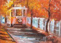 Трамвайчик. Первый снег