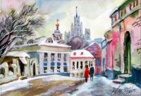 Белый город Высотка с Малого Ивановского