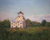 Благовещенская церковь. Летний вечер
