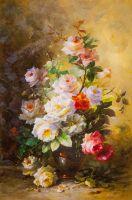 Букет с оранжевой розой