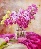 Орхидеи. Букет