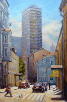 Борисоглебский переулок.