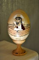 "Миниатюра ""Христос в лодке"""