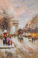 Arc de Triomphe (вольная копия Кристины Виверс картины Антуана Бланшара)